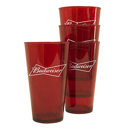 Glas Budweiser Packung