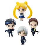 Sailor Moon Petit Chara Sammelfiguren 4er-Pack Three Lights (Star Lights) 6 cm