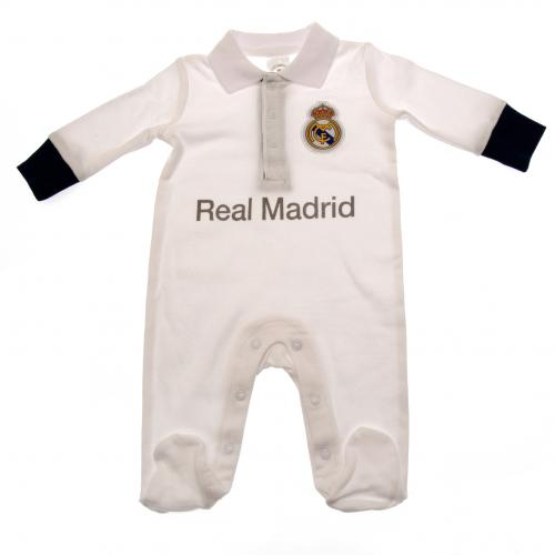 Pijama Strampelhose Baby Real Madrid 0/3 Monate