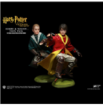 Harry Potter My Favourite Movie Actionfiguren Doppelpack Potter & Malfoy Quidditch Ver. 26 cm