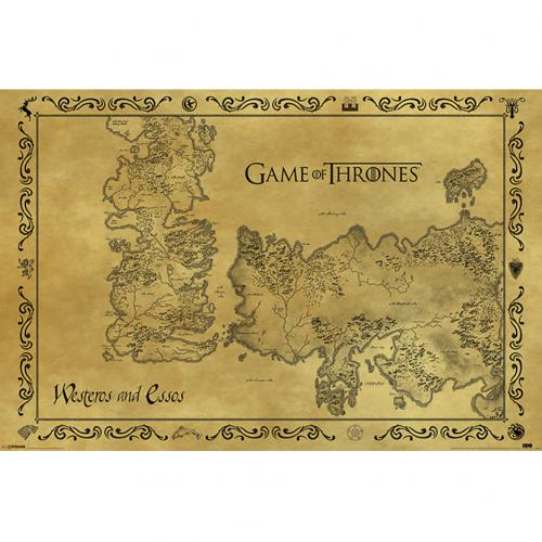 Poster Game of Thrones  (Game of Thrones)
