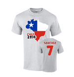 T-Shirt Chile Fussball