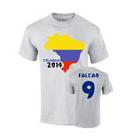 T-Shirt Kolumbia Fussball