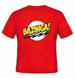 T-Shirt Big Bang Theory - Bazinga Red