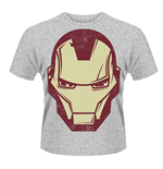 T-Shirt Marvel Avengers Assemble Iron Man Maske