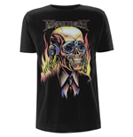 T-Shirt Megadeth Flaming Vic