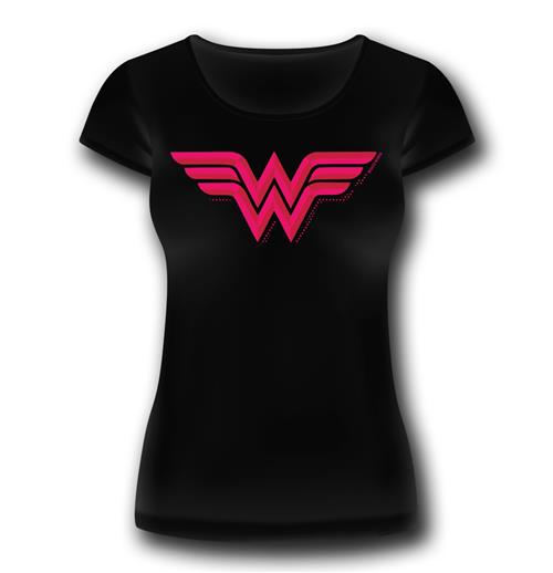 T-Shirt Wonder Woman Logo Classic fur Frauen