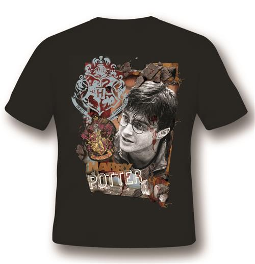 T-Shirt Harry Potter  Titillandus Black