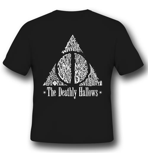 T-Shirt Harry Potter Deathly Hallows