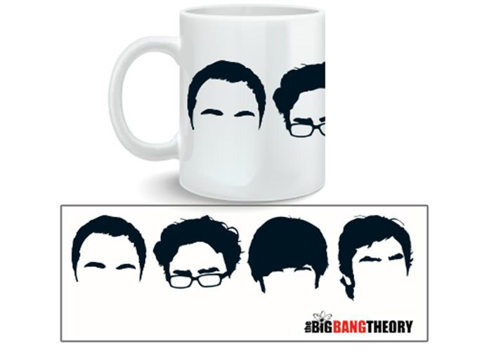 Tasse Big Bang Theory Faces