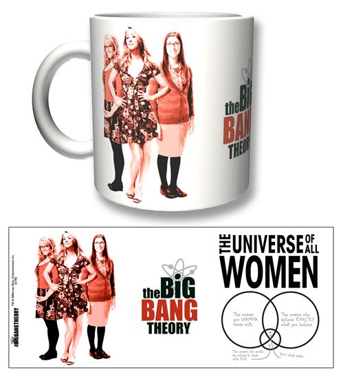 Tasse Big Bang Theory All Women