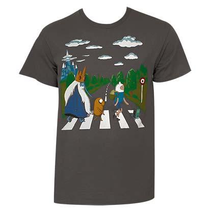 T Shirt Adventure Time Beatles Original Online