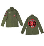 Jacke The Rolling Stones - Army Utilitarian Tongue