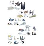 Star Wars Micro Machines Fahrzeuge Multi-Packs 2016 Wave 2 Sortiment (12)