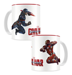 Captain America Civil War Tasse Duel