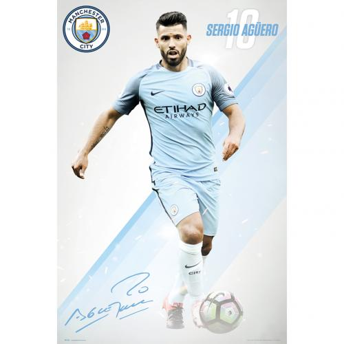 Poster Manchester City FC 236633