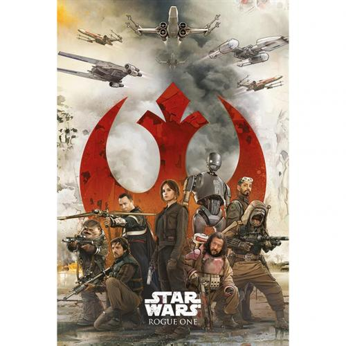 Poster Star Wars Rogue One Rebels 242