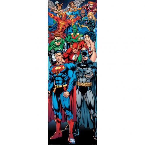 Poster Superhelden DC Comics