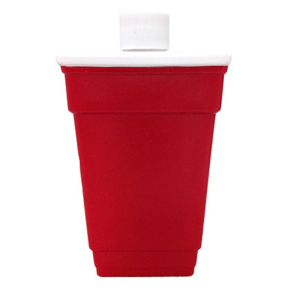 Edelstahl Flasche Red Cup