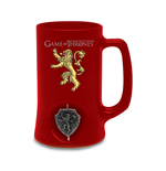 Game of Thrones Bierglas 3D Rotating Lannister Black