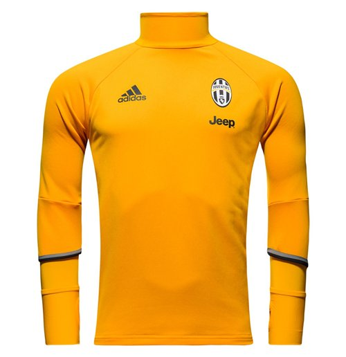 Sweatshirt Juventus 2016-2017 (Gold) fur Kinder