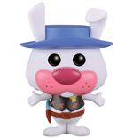 Hanna-Barbera POP! Animation Vinyl Figur Ricochet Rabbit (Flocked) 9 cm