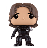 Captain America Civil War POP! Vinyl Wackelkopf Winter Soldier (No Arm) 10 cm