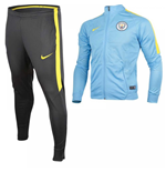 Trainingsanzug Manchester City FC 2016-2017 (Blau)