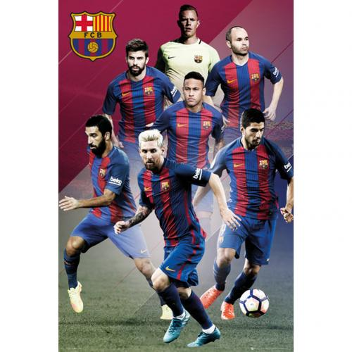 Poster FC Barcelona Players 81
