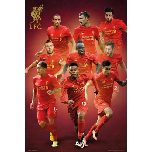 Poster Liverpool FC Players