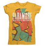 T-Shirt Paramore Sometimes Pattern