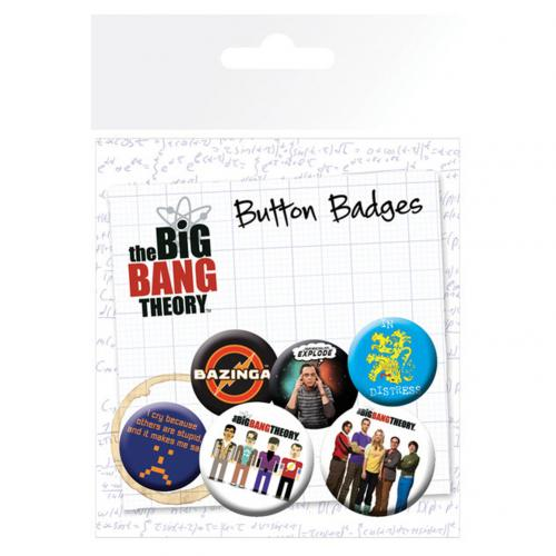 Brosche Big Bang Theory 238670