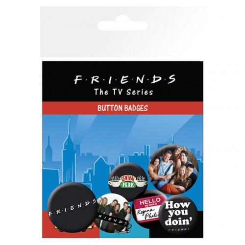 Brosche Friends  Set