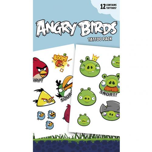 Tattoos Angry Birds 238697