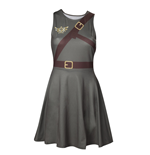 Kleid Zelda -  Link mit Screenprinted Straps