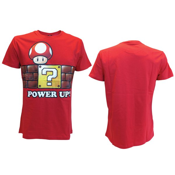 T-Shirt Nintendo Power Up