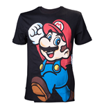 T-Shirt Nintendo - super Mario Black (Sc)