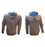 Sweatshirt Nintendo - Mushroom Power in grau