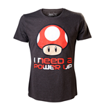 T-Shirt Nintendo - Need a Power Up Mann
