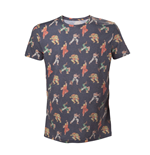 T-Shirt Street Fighter - All Over Characters