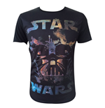 T-Shirt Star Wars - Darth Vader all over