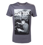 T-Shirt Star Trek  - in grau. Spocks in a DJ