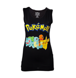 T-Shirt Top Pokémon - Starting Characters Frauen