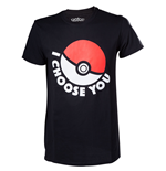 "T-Shirt Pokémon- ""I choose you"""