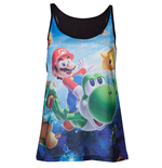 T-Shirt Nintendo  - Top Ladies Super Mario Galaxy 2