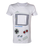 T-Shirt Nintendo  - White Gameboy