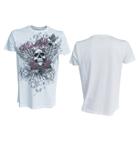 T-Shirt Miami Ink Angel in weiss