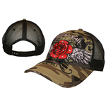 Kappe Miami Ink  - Rose Trucker