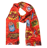Schal Marvel - Comics Woven Fashion Scarf mit All Over Print.