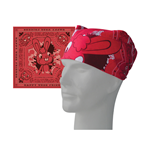 Kopftuch Happy Tree Friends  - Red & Pink Bandana. 100% Baumwolle.